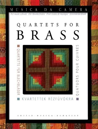 QUARTETS FOR BRASS score & parts