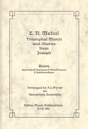 TRIUMPHAL MARCH & CHORUS from 'Joseph'
