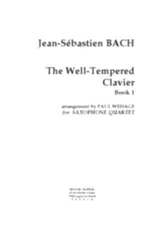 THE WELL-TEMPERED CLAVIER Book1 BWV846-869