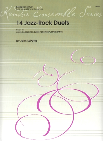 14 JAZZ ROCK DUETS Playing Score