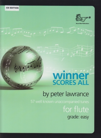 WINNER SCORES ALL + CD Flute Part
