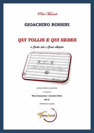 QUI TOLLIS E QUI SEDES score & parts