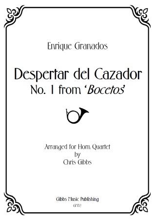 DESPERTAR DEL CAZADOR (score & parts)