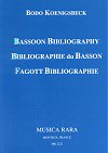BASSOON BIBLIOGRAPHY (very comprehensive indeed)