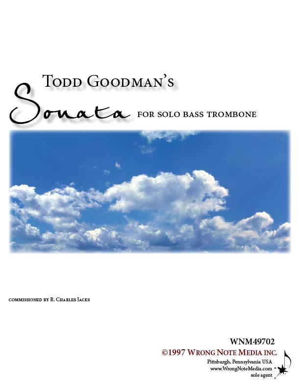 SONATA for Solo Bass Trombone