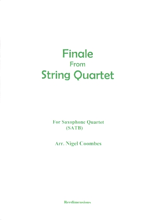 FINALE from string quartet No. 78