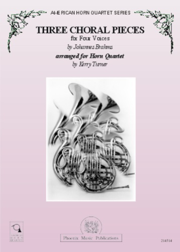 THREE CHORALE PIECES for Four Voices