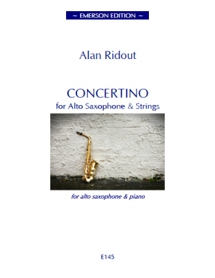 CONCERTINO FOR SAXOPHONE