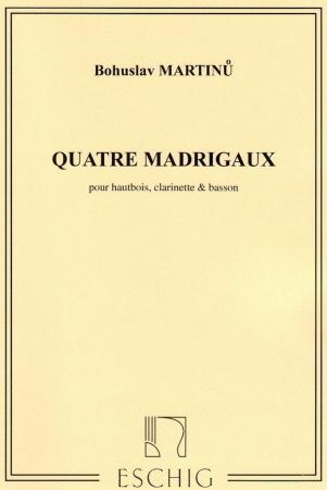 QUATRE MADRIGAUX score