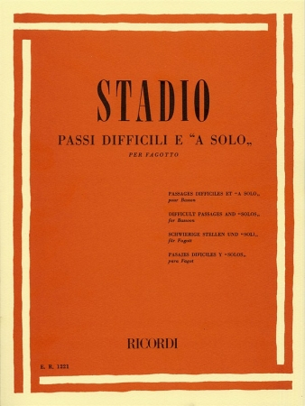 DIFFICULT PASSAGES AND SOLOS