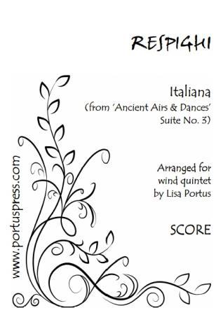 ITALIANA (score & parts)
