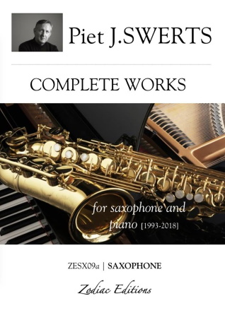 COMPLETE WORKS Saxophone parts