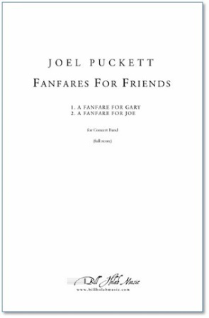 FANFARES FOR FRIENDS (full score)