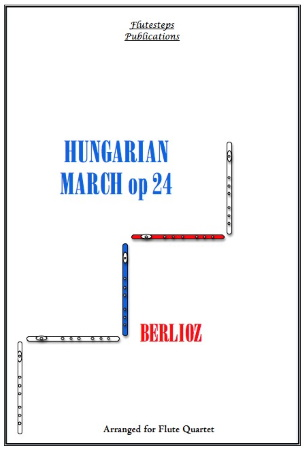 HUNGARIAN MARCH Op.24 (score & parts)