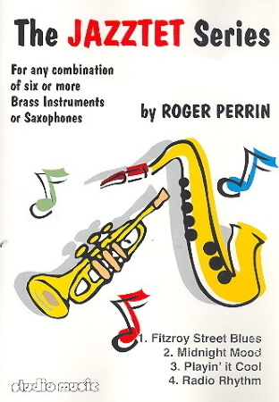 THE JAZZTET SERIES Volume 1 (score & parts)