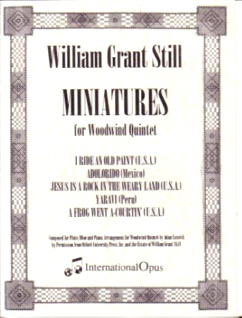 MINIATURES (score & parts)