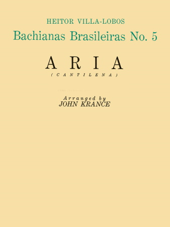BACHIANAS BRASILIERAS No.5 Aria (Cantilena)