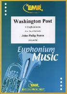 WASHINGTON POST treble/bass clef