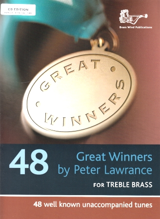 GREAT WINNERS for Treble Brass + CD (F/Eb Edition)
