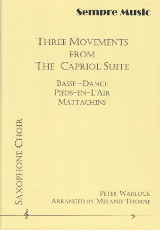 THREE MOVEMENTS from The Capriol Suite