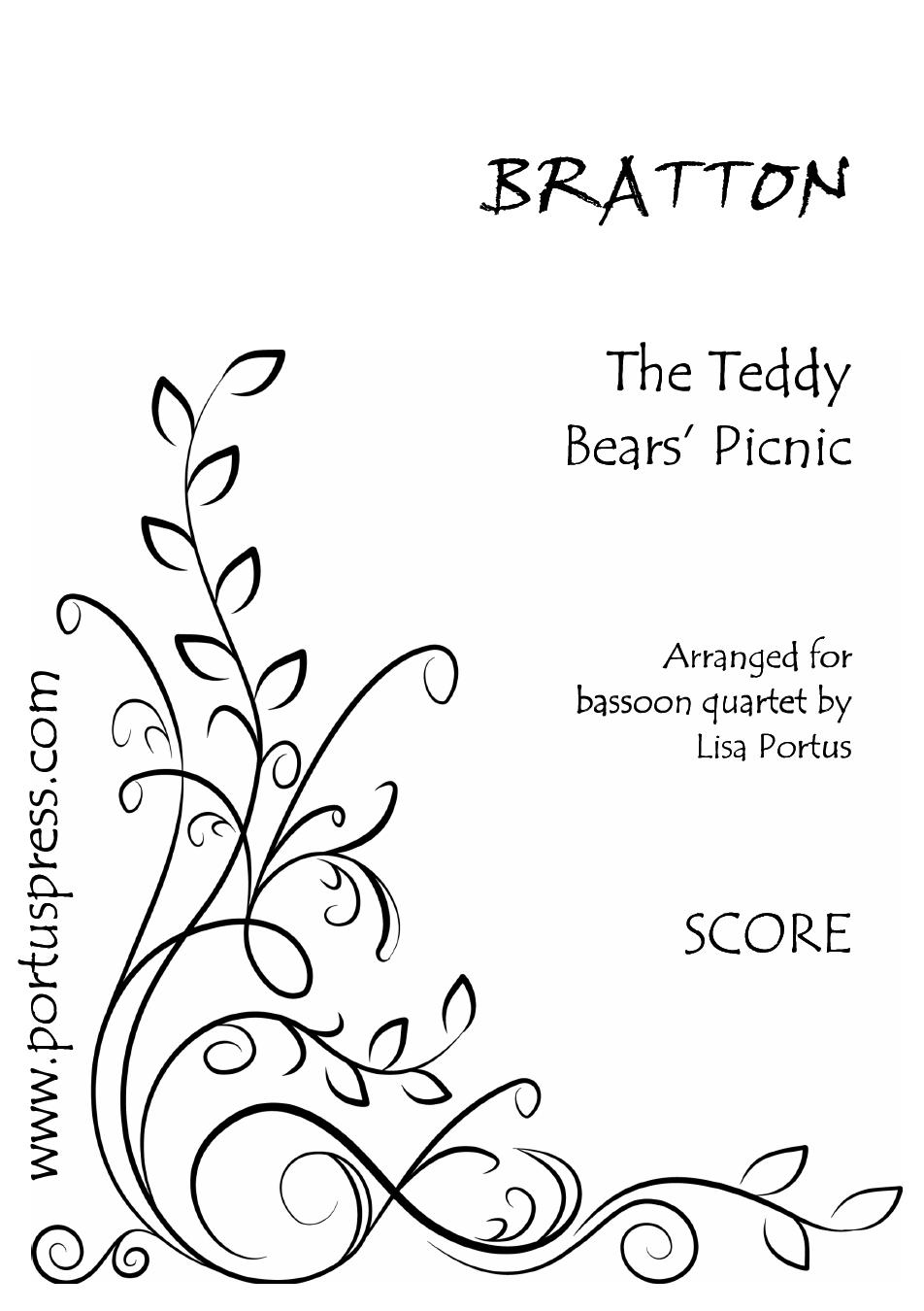 TEDDY BEARS' PICNIC (score & parts)