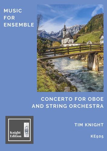 CONCERTO for Oboe & String Orchestra (score)