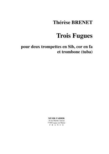 TROIS FUGUES