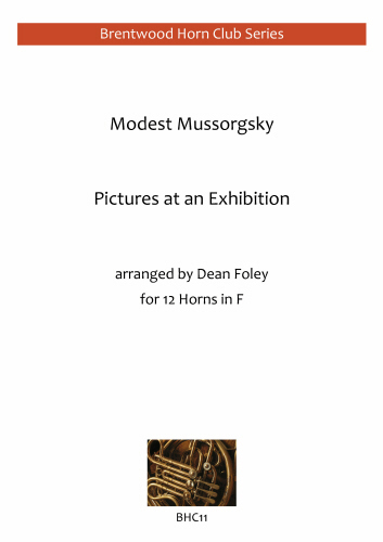 PICTURES AT AN EXHIBITION Complete (score & parts)