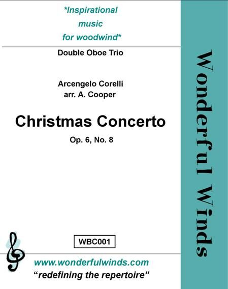 CHRISTMAS CONCERTO Op.6 No.8 (score & parts)