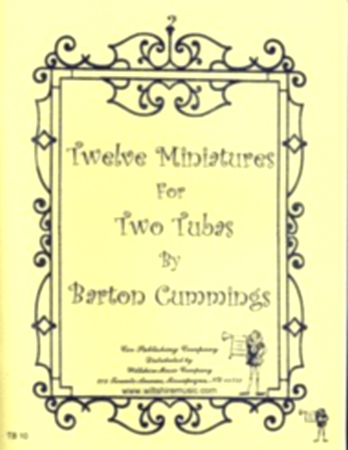 TWELVE MINIATURES (playing score)