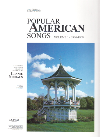 POPULAR AMERICAN SONGS Volume 1 1st alto