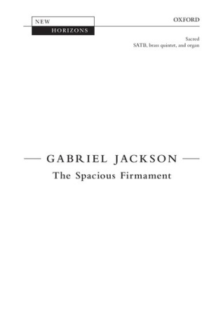 THE SPACIOUS FIRMAMENT (set of brass parts)