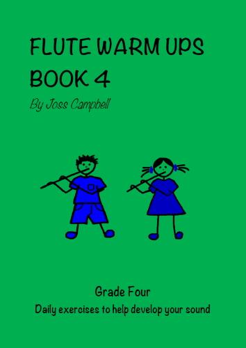 FLUTE WARM UPS Book 4