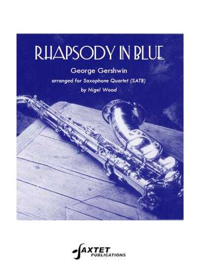 RHAPSODY IN BLUE (score & parts)