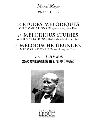25 MELODIOUS STUDIES with Variations