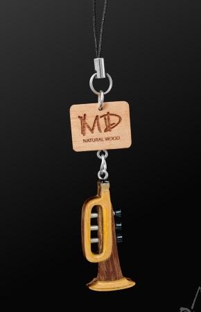 WOODEN STRAP Trumpet (3D Dark)