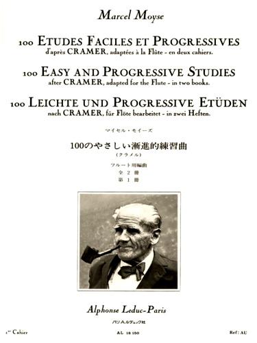 100 EASY AND PROGRESSIVE STUDIES AFTER CRAMER Volume 1
