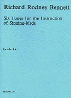 SIX TUNES FOR THE INSTRUCTION OF SINGING BIRDS