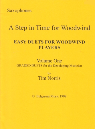 A STEP IN TIME FOR WOODWIND Volume 1