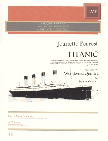 TITANIC (score & parts)