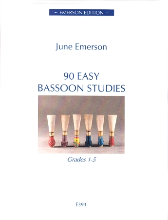 90 EASY BASSOON STUDIES