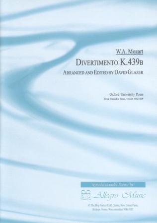 DIVERTIMENTO K439b (set of parts)