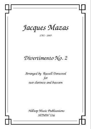 DIVERTIMENTO No.2 (score & parts)