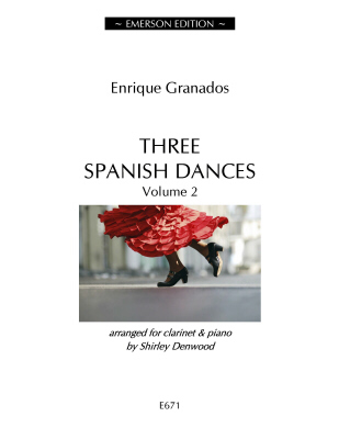 THREE SPANISH DANCES Volume 2 - Digital Edition