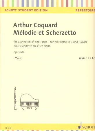 MELODIE ET SCHERZETTO Op.68
