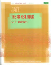 THE AB REAL BOOK C edition (bass clef)