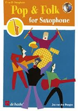 POP AND FOLK FOR SAXOPHONE + CD