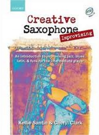 CREATIVE SAXOPHONE IMPROVISING + CDs