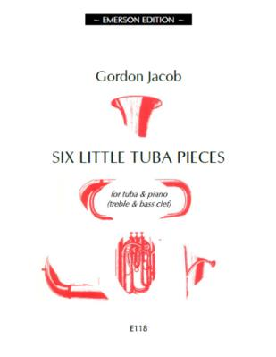 SIX LITTLE TUBA PIECES (treble/bass clef)