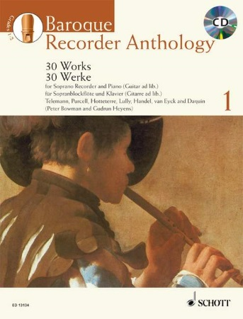 BAROQUE RECORDER ANTHOLOGY Volume 1 + CD